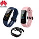 Original Huawei Honor Band 5 Smart Wristband Oximeter Magic Color Touch Screen Swim Stroke Detect Heart Rate Sleep