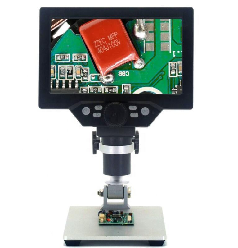 7 inch HD LCD display electron microscope 1200X times digital microscope