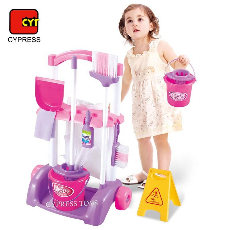 Pretend Play Preschool Household Toy Cleaning Set Toy For Kids Educational Toy