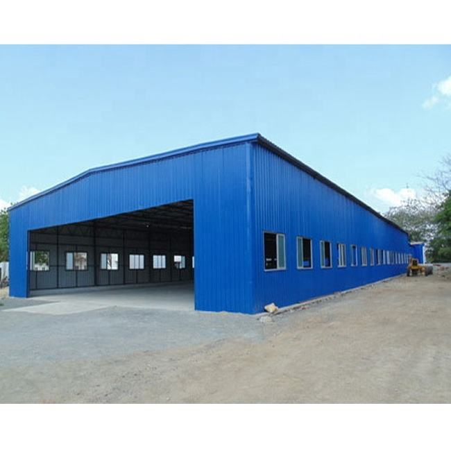 Steel Structure Fabrication for Warehouse/Workshop Building
