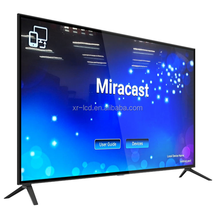 Led Tv Set 55 Inch 65 Inch 75 Inch 86 Inch 100 Inch 120 Inch 4K Ultra HD LED Smart TV Panel LCD Android Televisions