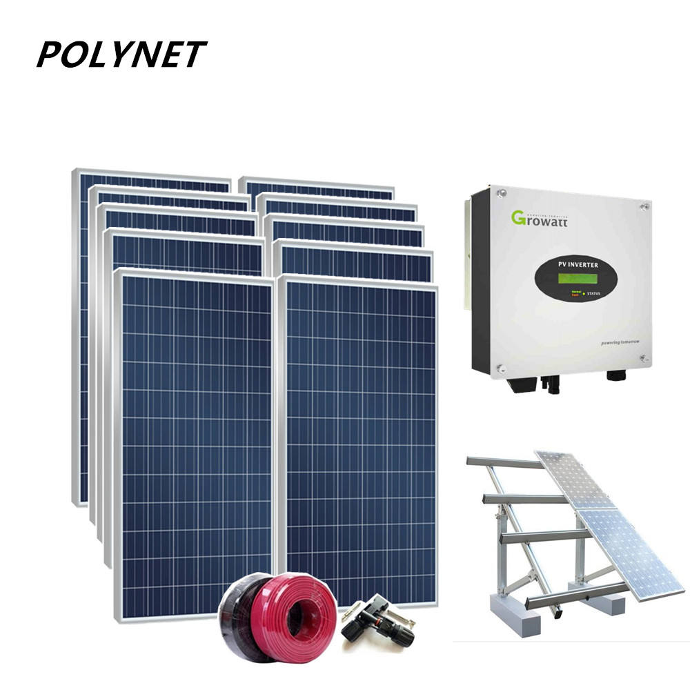 Polynet high quality 5kw solar power pv system home price in punjab india