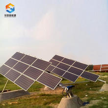 6KW tilt single axis solar tracker power solar tracking system sun tracking sensor solar tracker solar tracking actuator