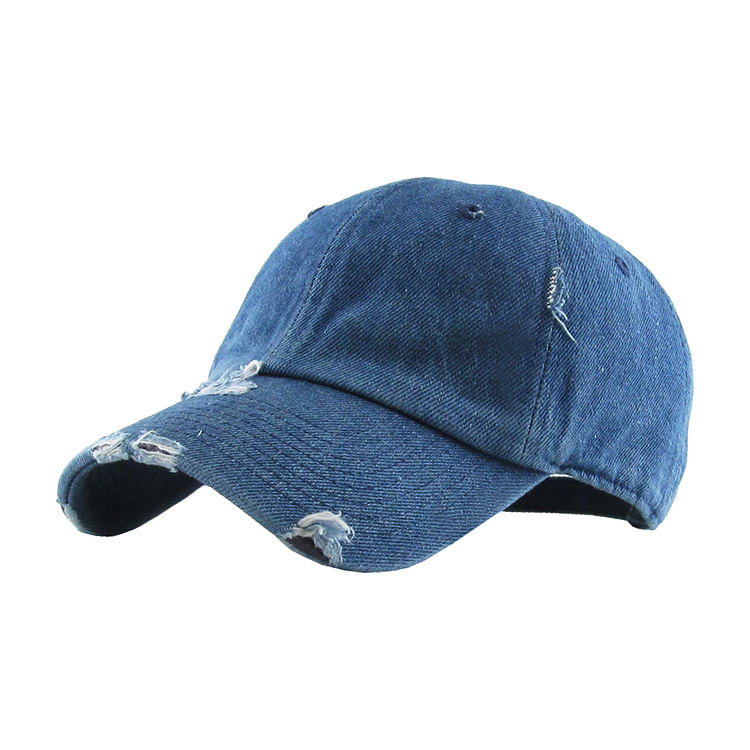 authentic washed faded jean small boys girls daddy baseball caps for sale