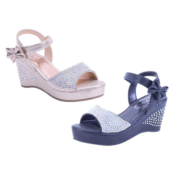 ATALINA BY SUMMER RIO 2021 Girls Sandals Baby Little Children's Sandals Big Girls Princess Heeled Sandals Shoes for Girls Kids