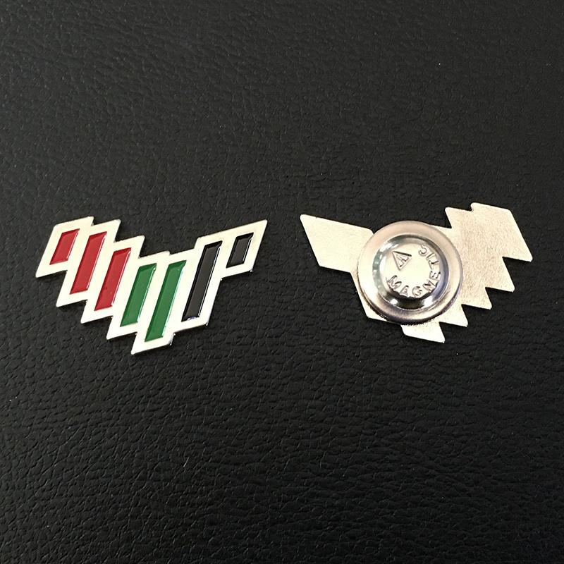 2020 UAE nation brand for the next 50 years tart here metal pin badges