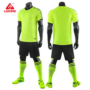 Dry Fit Blank Custom Tracksuits Soccer Wear Jersey Football Jerseys with low price