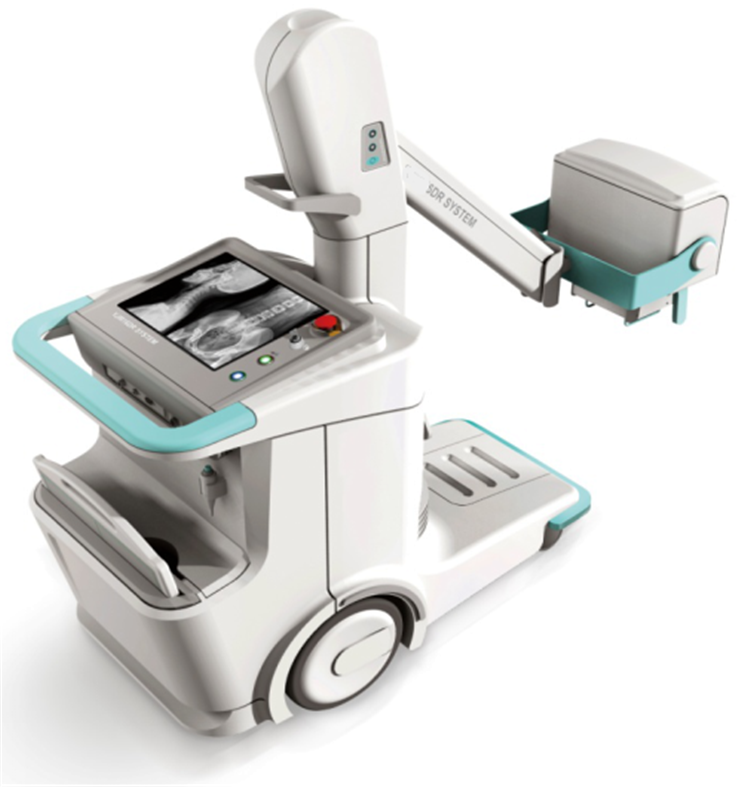 Good Supplier digital radiography system x ray/ dr x-ray machine mobile x ray machine