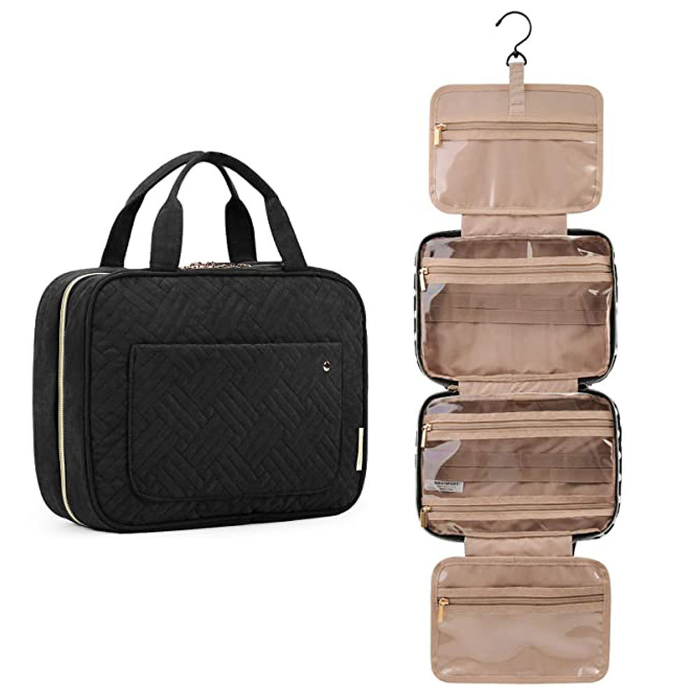Toiletry Bag Hanging Travel Toiletry Bag with Hanging Hook Water-resistant Travel Toiletry Bag