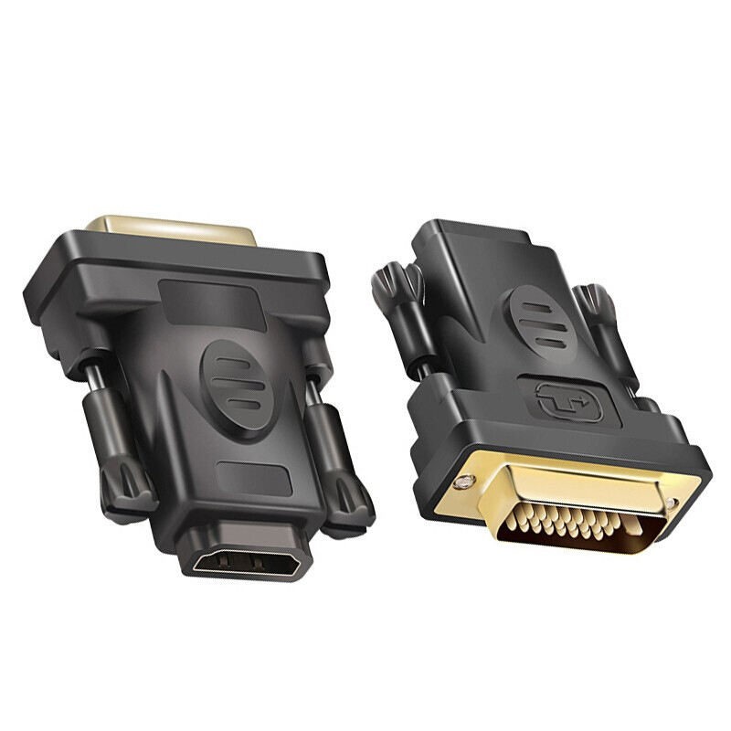 HDMI to DVI converter DVI D 24+1 25 Pin Male to HDMI Female Adapter dvi to hdmi adapter