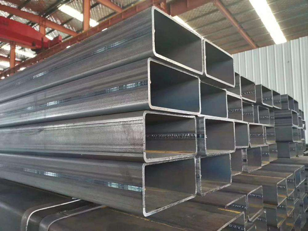 Logo Customization Welded Pipe RHS Carbon Steel Welded Or Seamless Tube Rectangular Steel Pipe