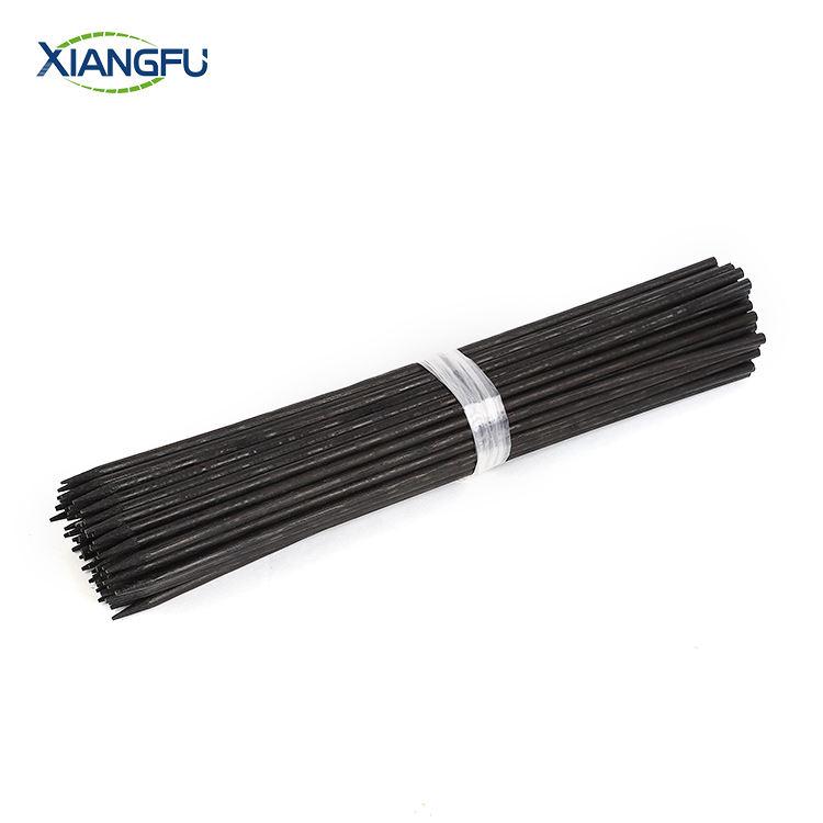 Schwarz Natürliche Bambus Blume Stick für blume unterstützung
