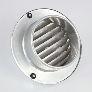 Decorative Air Conditioner Metal Air Vent Covers For Sidewall
