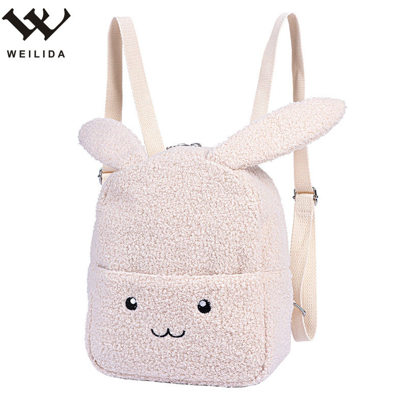 New Design Cartoon Plush Kids Animal Backpack Wholesale Children School Bag Custom Cartoon Kindergarten Backpack Bag