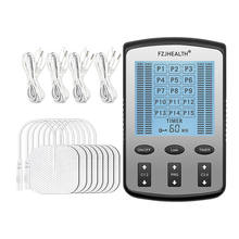 4 channels 15 modes massage pain relief treatments electrical muscle stimulator TENS device reduce pain tens unit