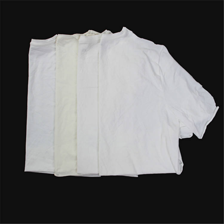 High quality white cotton cloth rag