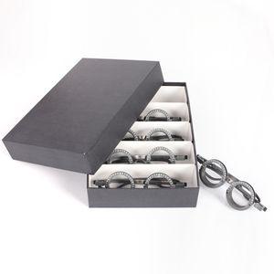 光学プログレッシブ眼科トライアルフレーム光学レンズため検眼眼鏡店テスト