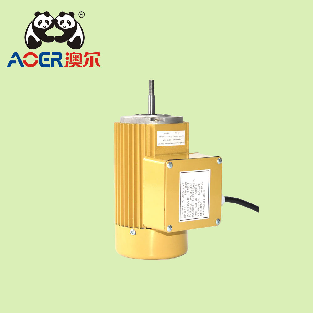 ac single phase electric water pump motor
