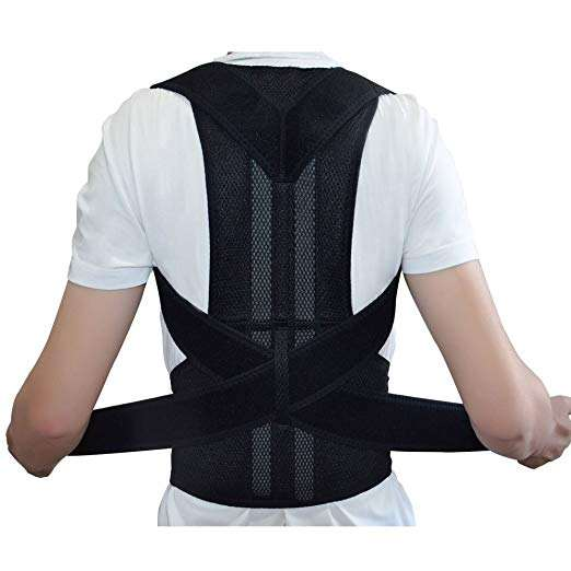 Portable Hip Cushion Mesh Lumbar Posture Corrector Back Straightening Orthopedic Back Support Belt