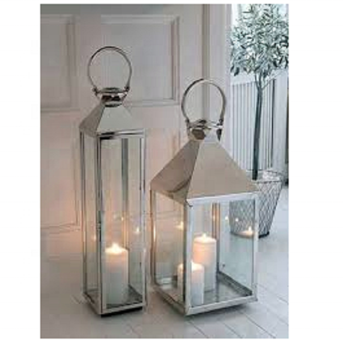 Brand new metal lantern candle holder with high quality