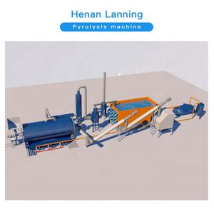 Lanning high quality cheap custom Continuous tyre retreading pyrolysis equipment
