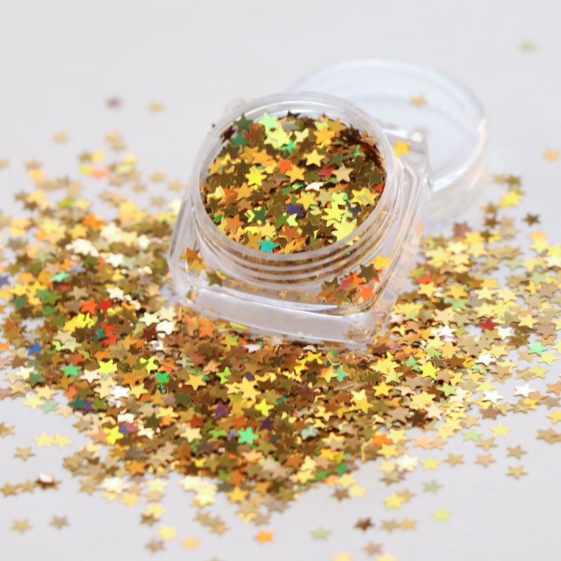 Xuqi wholesale polyester chunky hexagon shaped cosmetic glitter