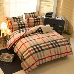 Hot Sell Bedsheet Sets Four Piece Sanded Cotton Bedding Sets