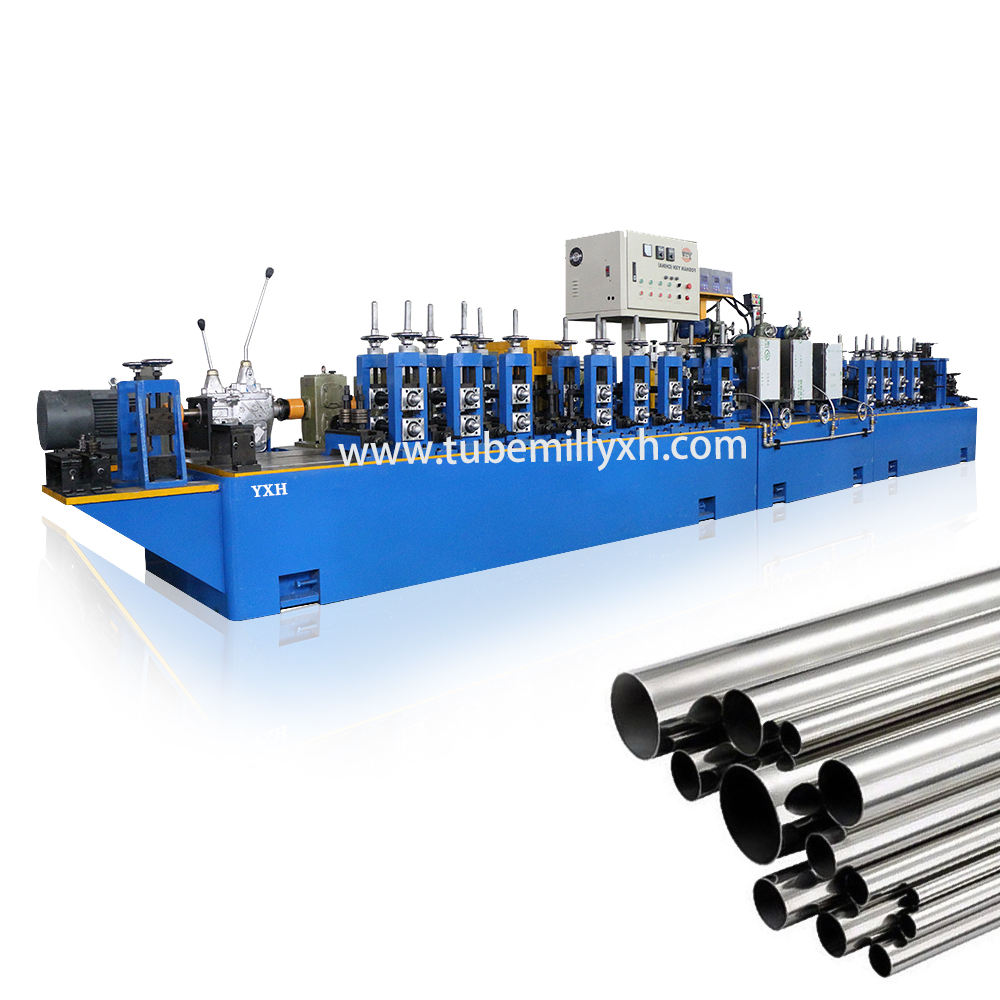 Full automatic stainless steel welded pipe production line for decoration tube mills