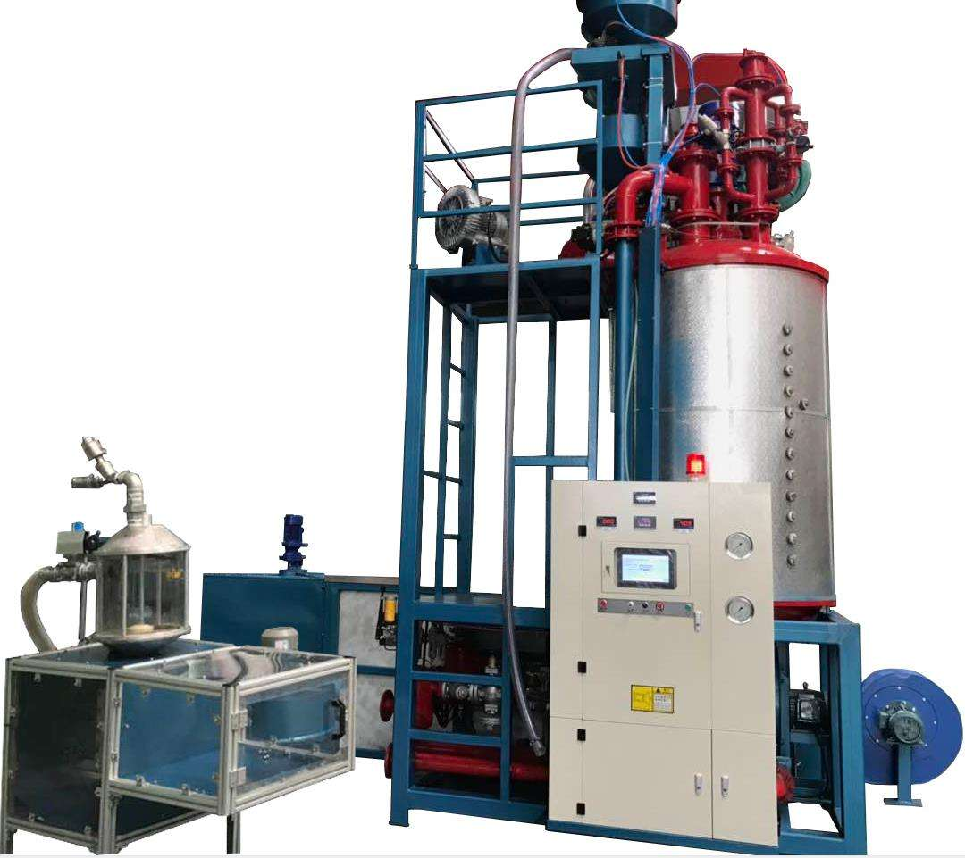 High quality accuracy foaming machine eps expanding machine eps polystyrene batch pre-expander