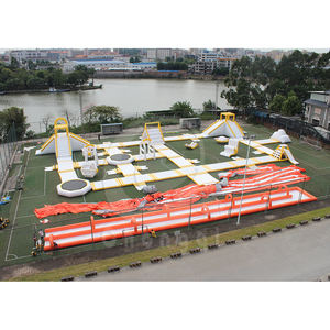 CUSTOM Made Inflatable Floating Water Park,GIANT Inflatable น้ำเกม Park