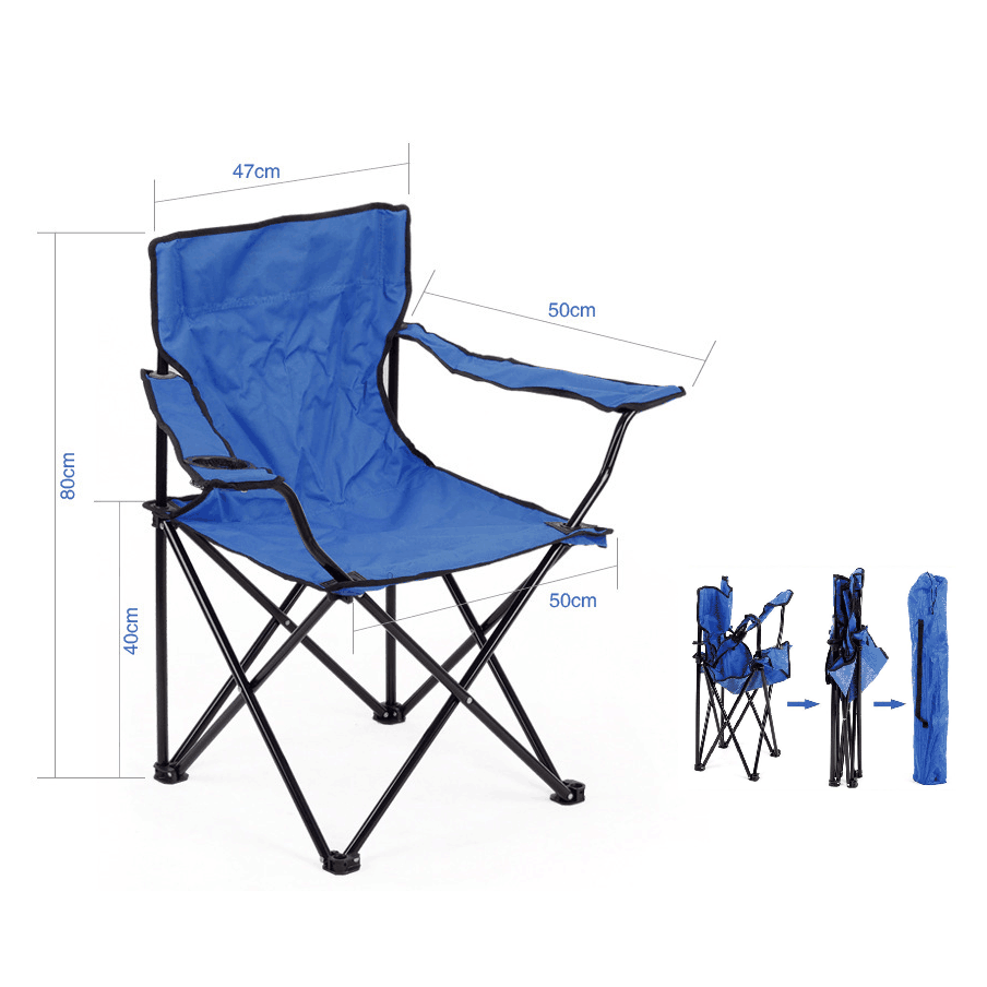High quality portable outdoor beach chair camping folding travel fishing chair with carry bag foldable camping chair