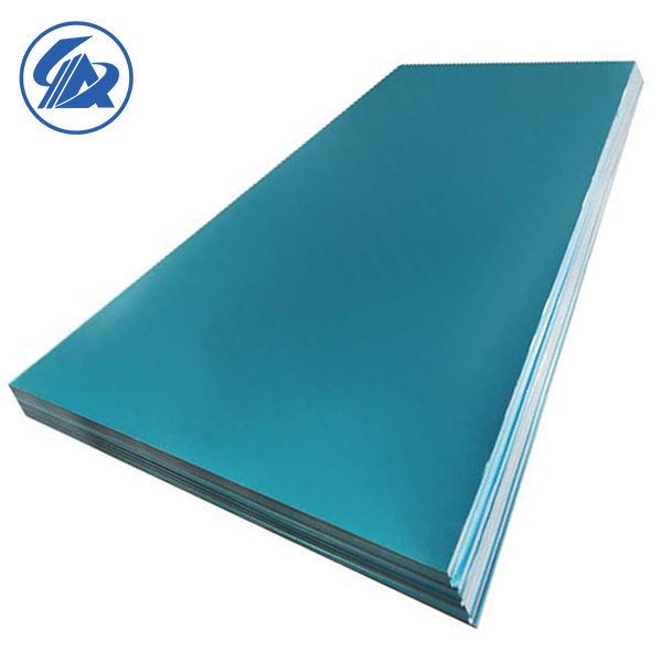 Strain Hardened 5052 Aluminum Alloy H22 PE/PVC film Coated aluminum coil sheet