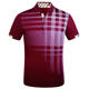 Wholesale No MOQ Classic Style Casual Sports Running Plaid Polo Shirts