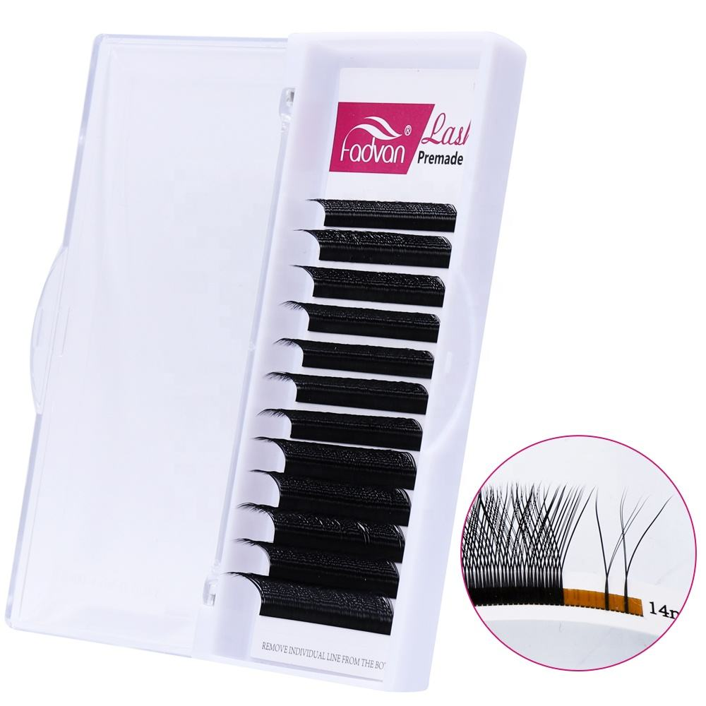 Y Shape Volume Eyelash Extension Individual Yy False Eyelashes W Weave Lashes Easy Graft Faux Mink Eyelash