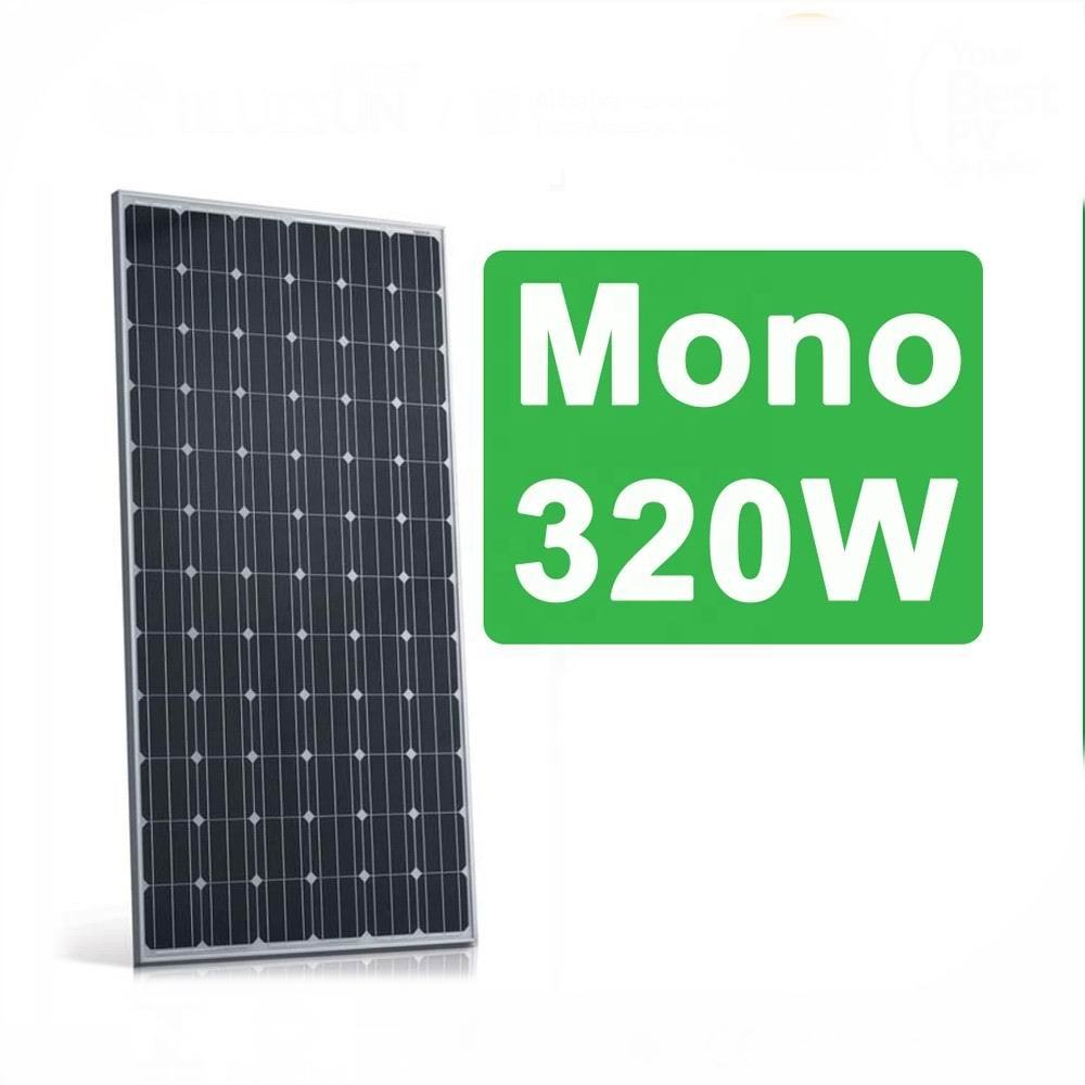 Cheap price half cut 400 watt 350W 330W 320W 300w solar panel, China solar panels wholesale ,5BB PERC all black solar panel mono