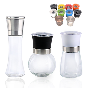 Wholesale Glass disposable pepper mill