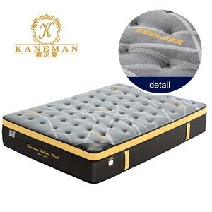 Hot selling Colchones Comfort Queen Size 30cm vacuum compressed Spring Mattress