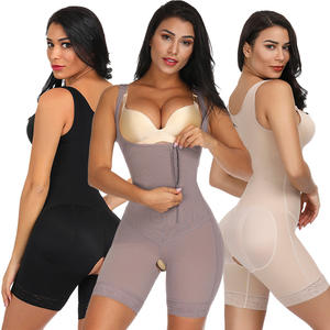 Women Postnatal Body Shaper Adjustable Tummy Control Shapewear Crotchless New Smooth Fabric 3 Color
