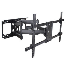 90 inch big size adjustable six arms TV monitor wall mount bracket