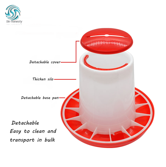 Automatic Plastic Chicken Feeder and Drinker For Poultry Chicken