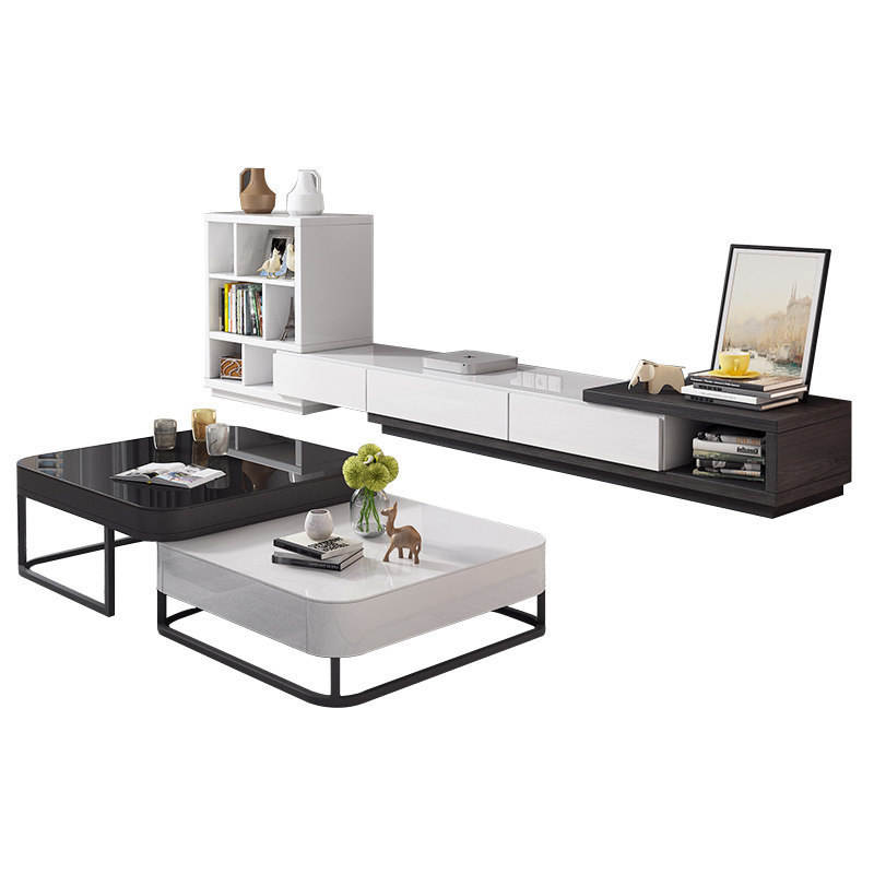 Metal Furniture Sets Wooden TV Stand
