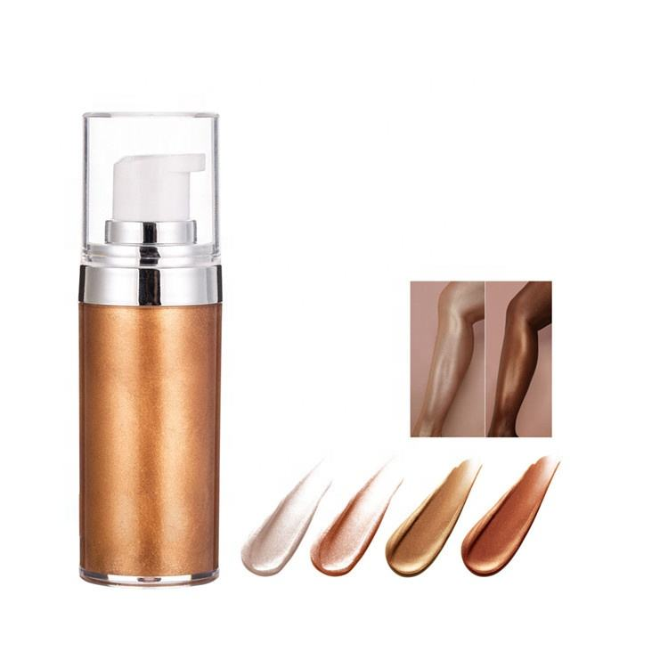 OEM Makeup Born to Glow Liquid Illuminator Bronze body shimmer oil private label low moq