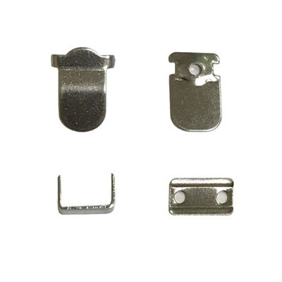 H65 quality brass metal trouser hook and eye