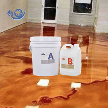 China Manufacturer Wholesale Epoxi Resin and Hardener Clear Crystal Epoxy Resin for floors