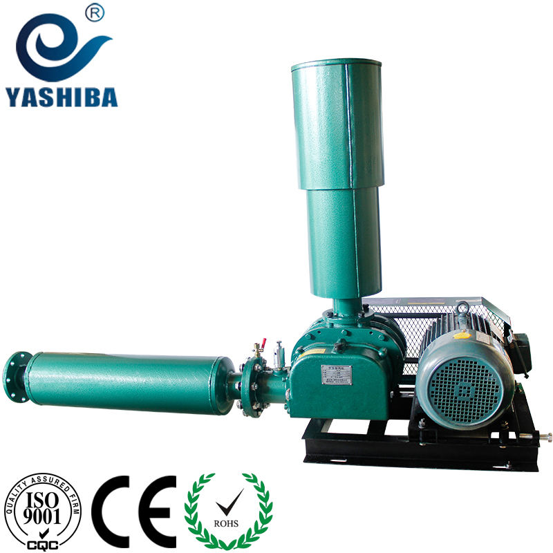 YASHIBA Roots blower Aeration Vacuum Three Lobe Air Blower In Waste Water Treatment Plant