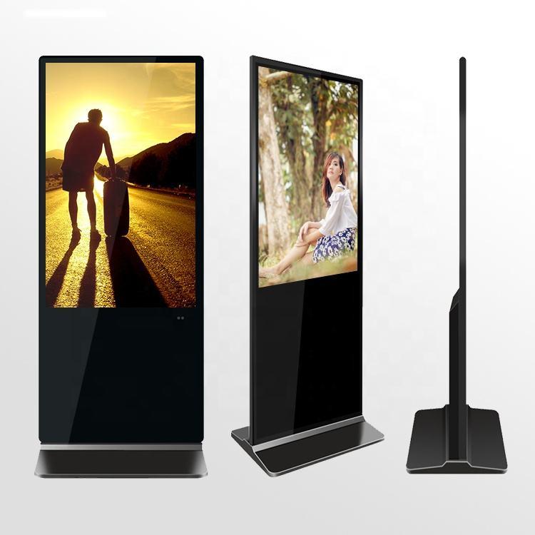42 pollici android supporto da pavimento digital signage facile da installare a raggi infrarossi chiosco full hd indoor pubblicità display a cristalli liquidi