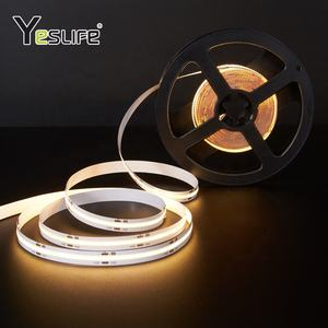หรี่แสงได้ Flexi LED Strip Light Ultra Thin flip-Chip LED dtrip กับ PCB
