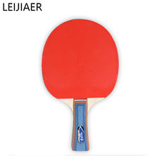 Leiajier LP-1028 table tennis racket set of 2 racket and 4 balls Professional cheap ping pong  racket set