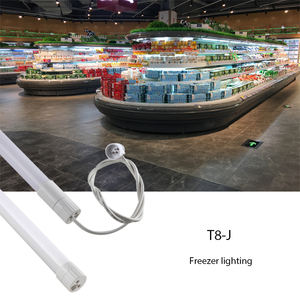 Aluminum slim purification lights batten lights linear lights led fluorescent tube fixtures for supermarket