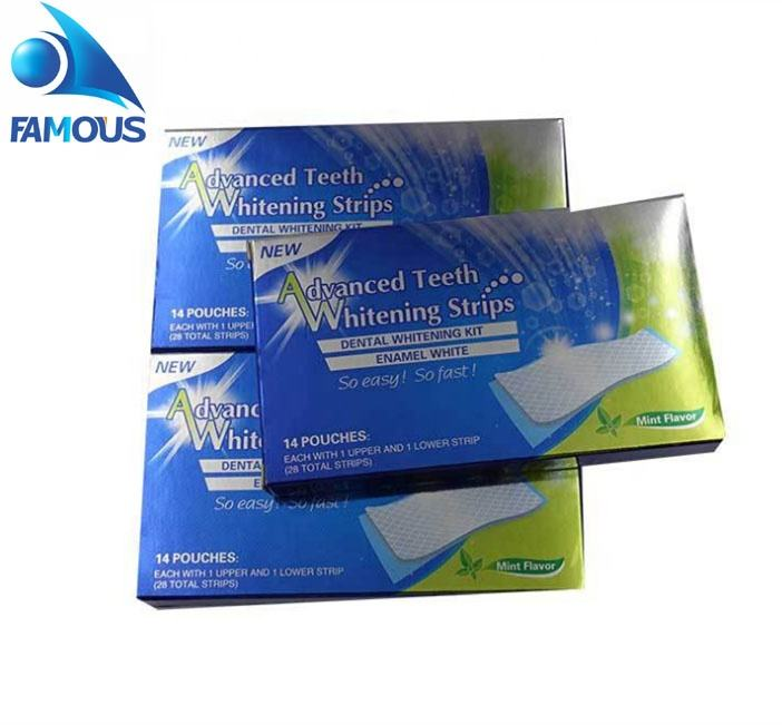 Teeth Whitening Strips Private Label Main Whiten Ingredient Coconut Charcoal Make Teeth 3D White